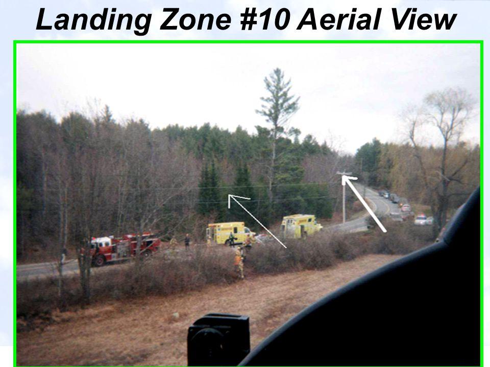 Landing Zone #10 Aerial View