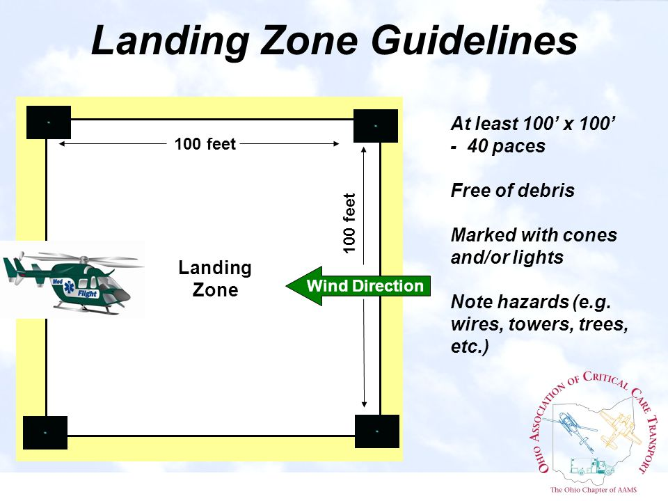 Landing Zone #5 Aerial View