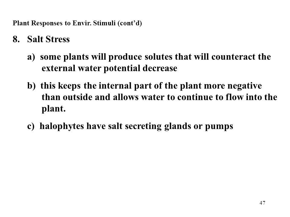47 Plant Responses to Envir.