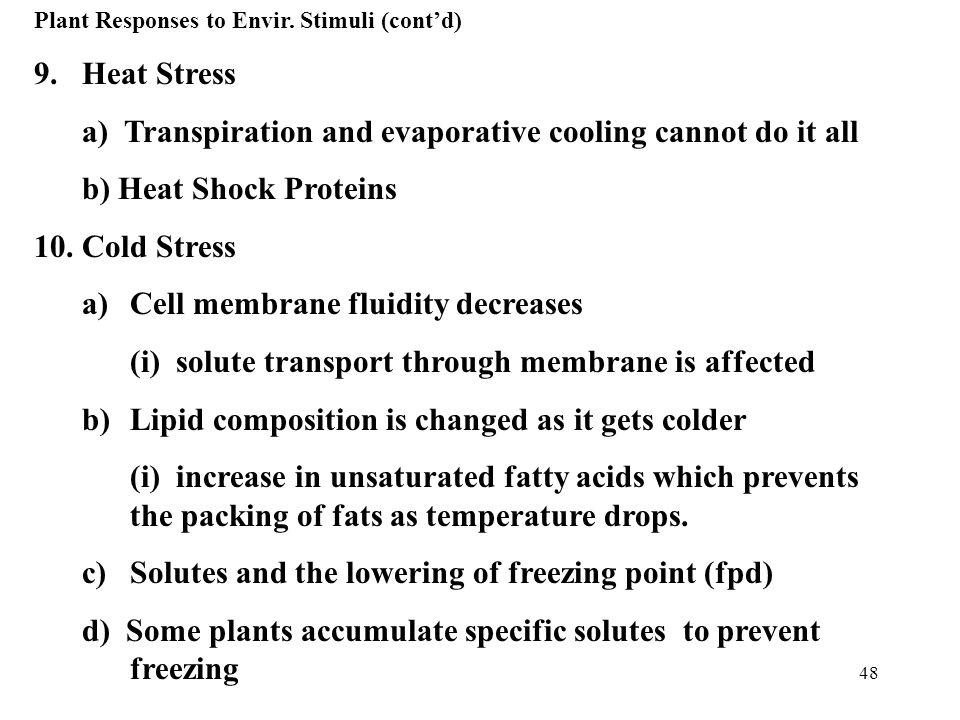 48 Plant Responses to Envir.