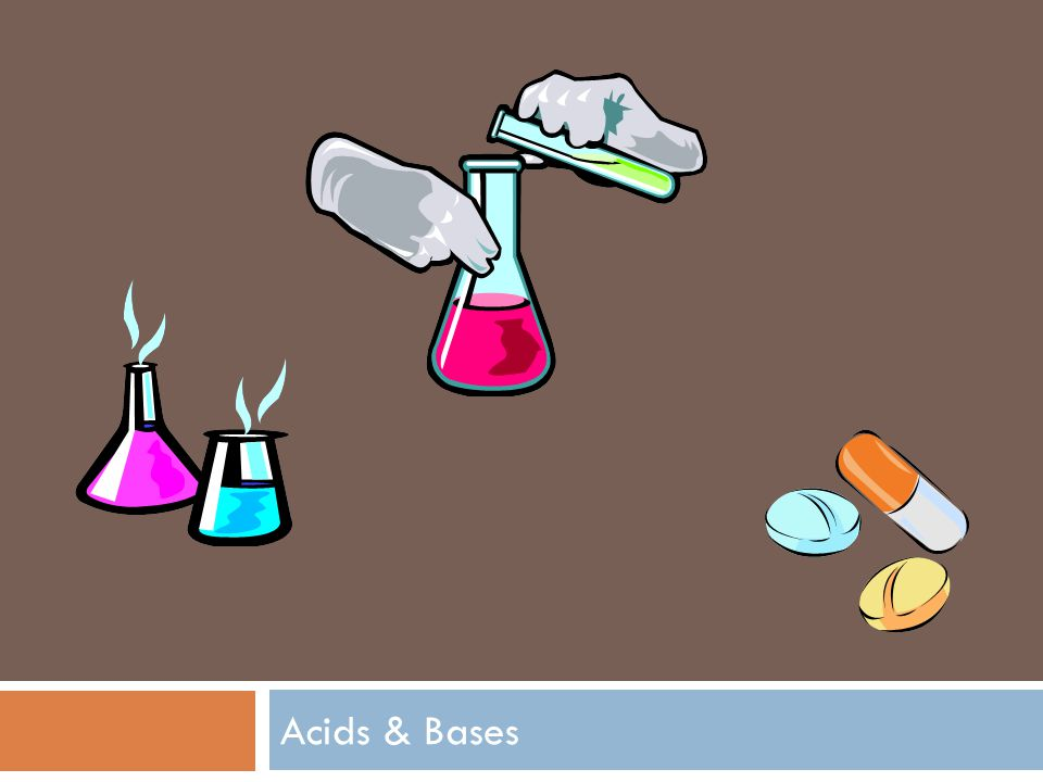 Key Characteristics of Acids & Bases Acids Taste sour Reacts with alkali metals (forms H2 gas) Litmus paper: RedNeutralizes Bases Bases Tastes bitterSlippery feelLitmus paper: BlueNeutralizes Acids