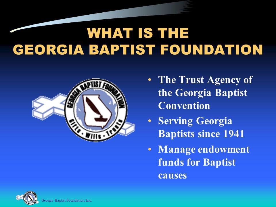 Georgia Baptist Foundation, Inc.