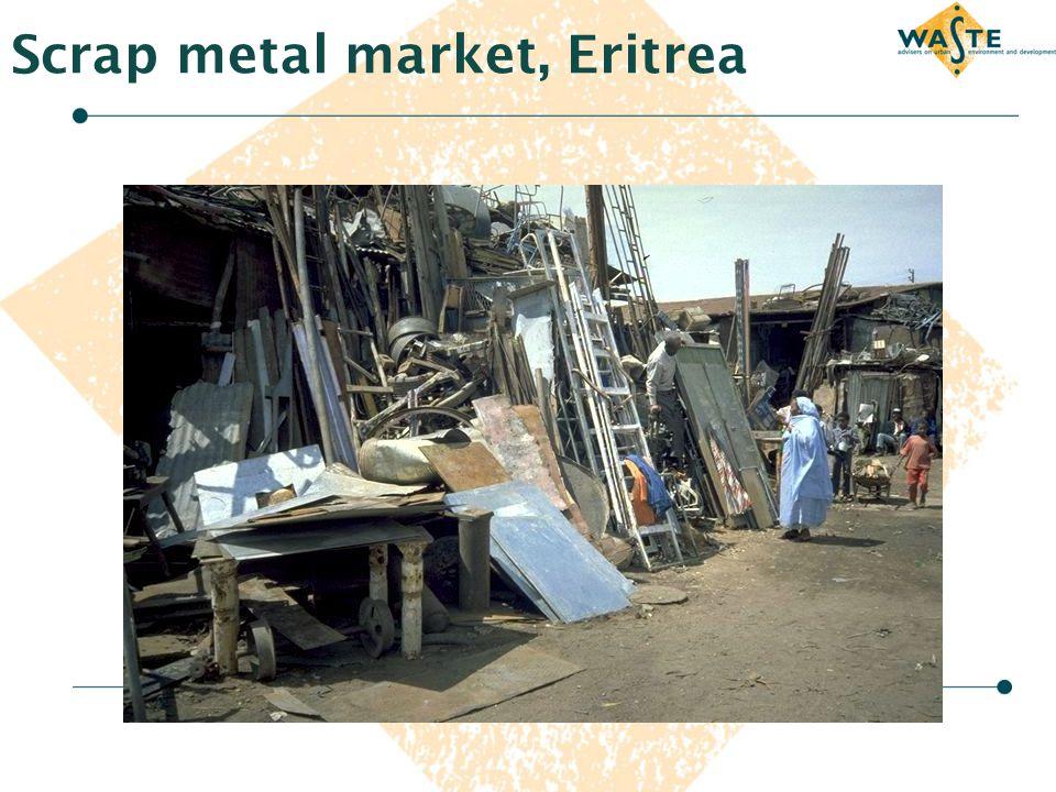 Scrap metal market, Eritrea
