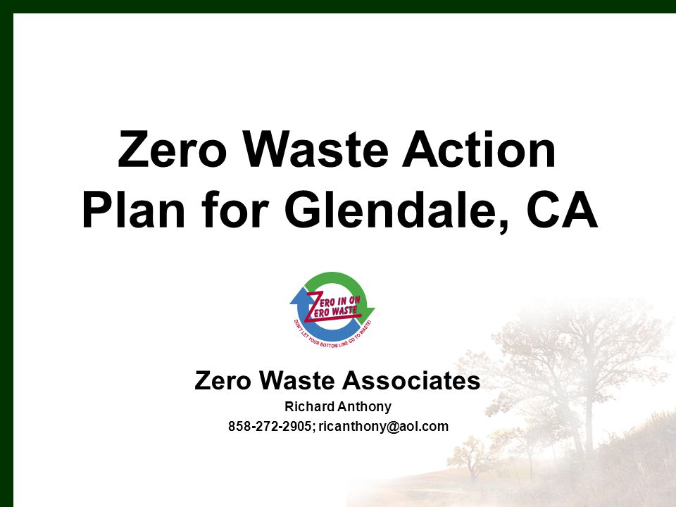 Adopt EPR Policy – Purchasing preference for take-backs – ID problem products for local actions – Advocate State and Federal legislation Citywide ban on stores distributing free single-use plastic shopping bags Styrofoam – follow County lead Takeback guide on City website Reduce - Producer Responsibility
