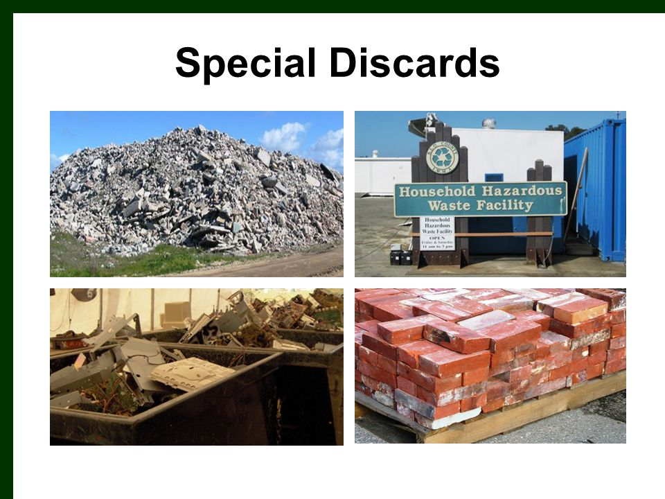 Special Discards