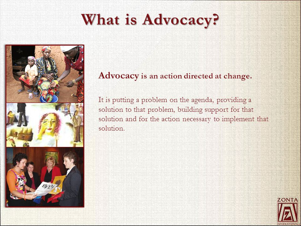 Advocate what.Promote justice and universal respect for human rights and fundamental freedoms.