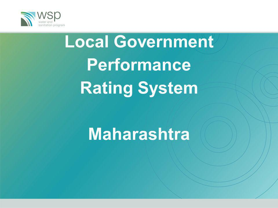 Local Government Performance Rating System Maharashtra