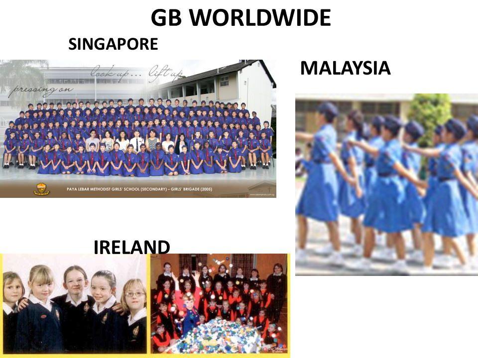 GB WORLDWIDE SINGAPORE IRELAND MALAYSIA