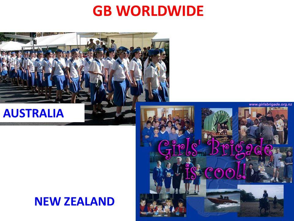 GB WORLDWIDE AUSTRALIA NEW ZEALAND