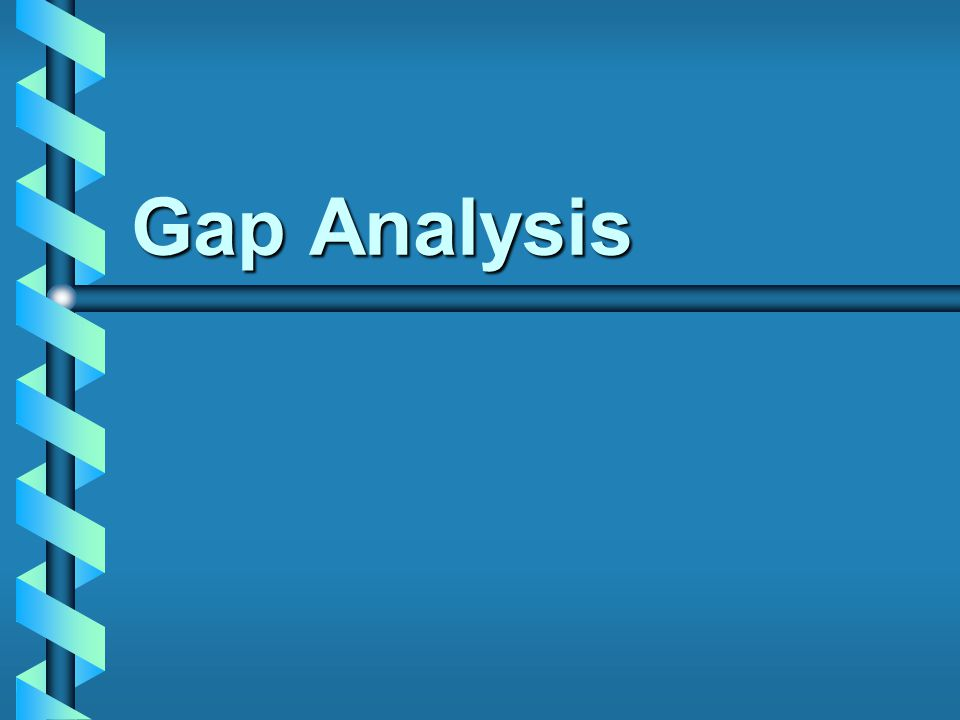 Table of Contents Definition of Gap AnalysisDefinition of Gap Analysis Service Gap AnalysisService Gap Analysis SERVQUALSERVQUAL –Gaps Model –Dimension Model Real World Gap AnalysisReal World Gap Analysis ISO 9001 2000ISO 9001 2000 2