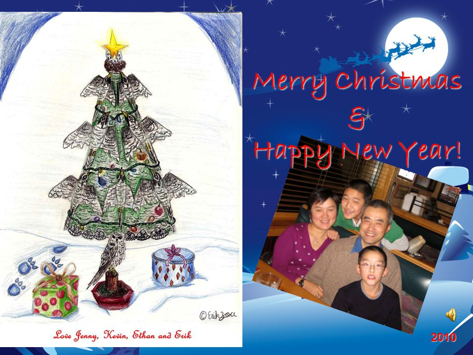 Merry Christmas & Happy New Year! 2010