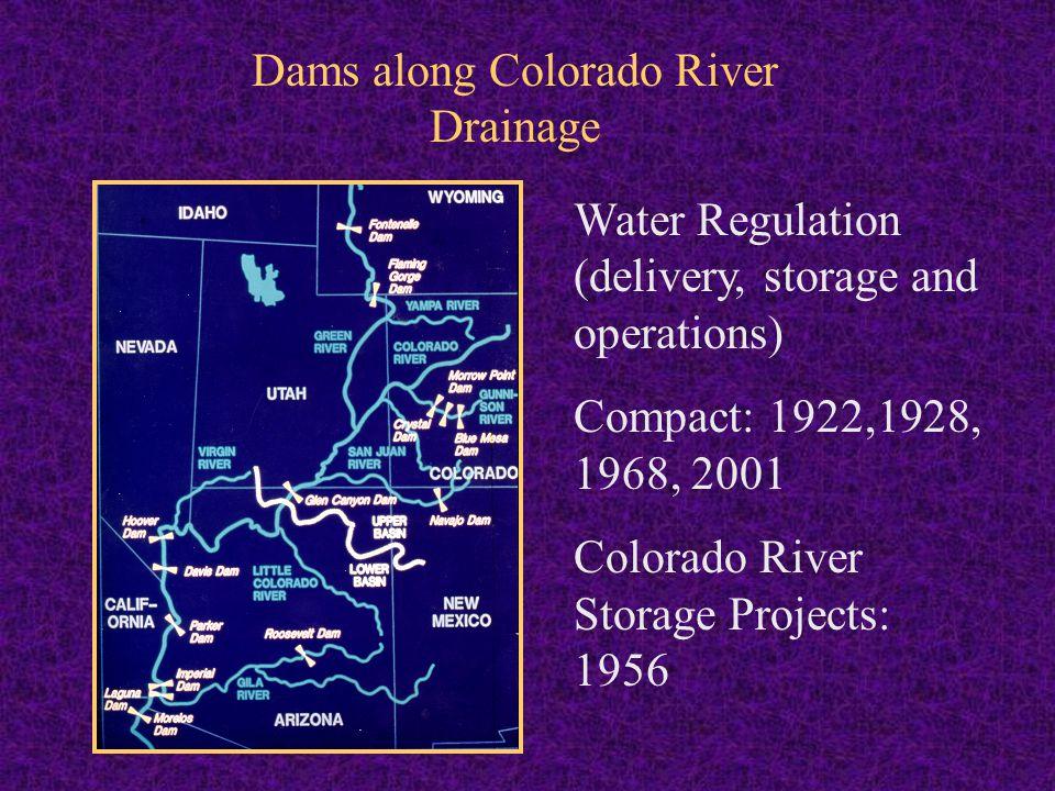 Native Fish of Colorado River Ecosystem High endemism Eight species were found originally.