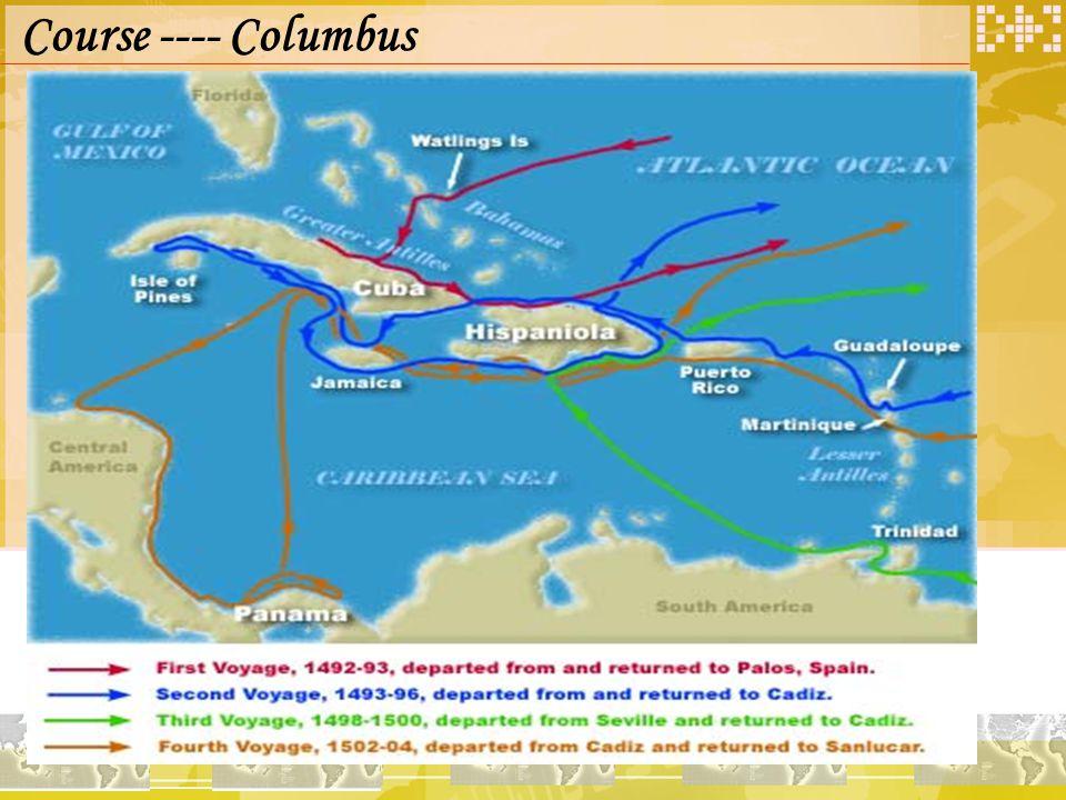 Course ---- Columbus