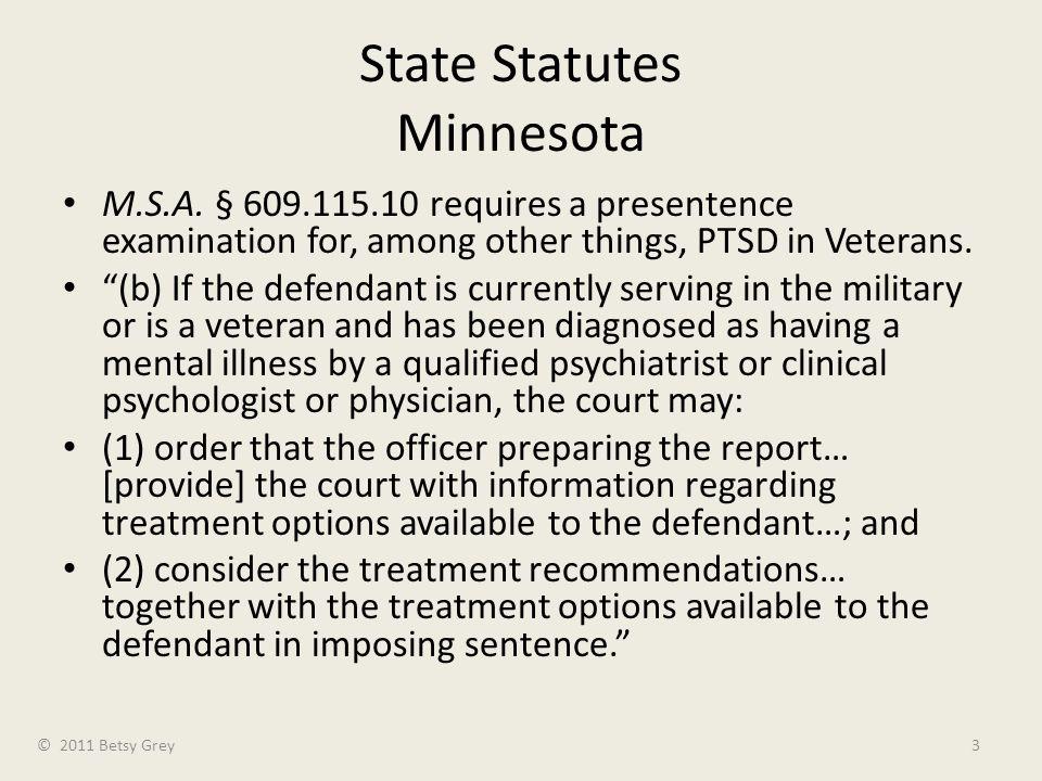 State Statutes Minnesota M.S.A.