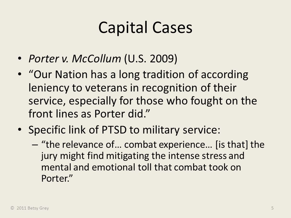Capital Cases Porter v. McCollum (U.S.
