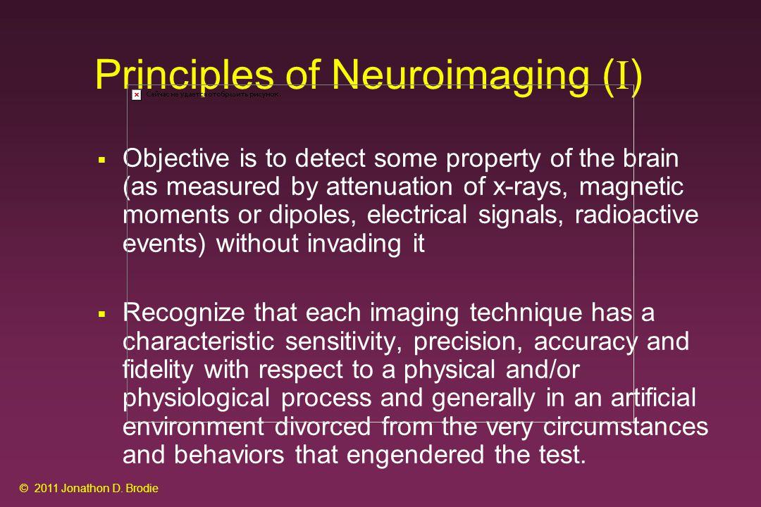 Structural Imaging CAT X-Ray MRI Anatomy CAT X-Ray MRI © 2011 Jonathon D. Brodie