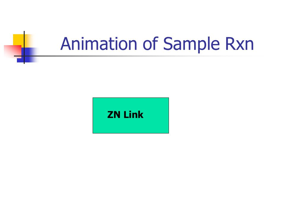 Animation of Sample Rxn ZN Link