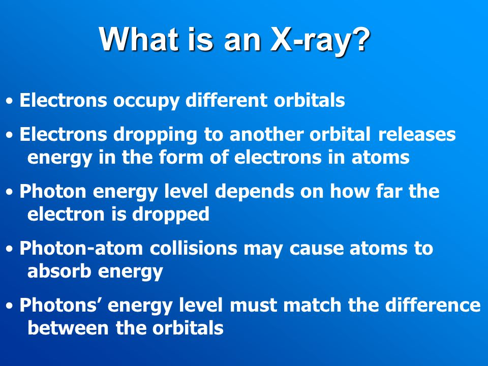 What is an X-ray.