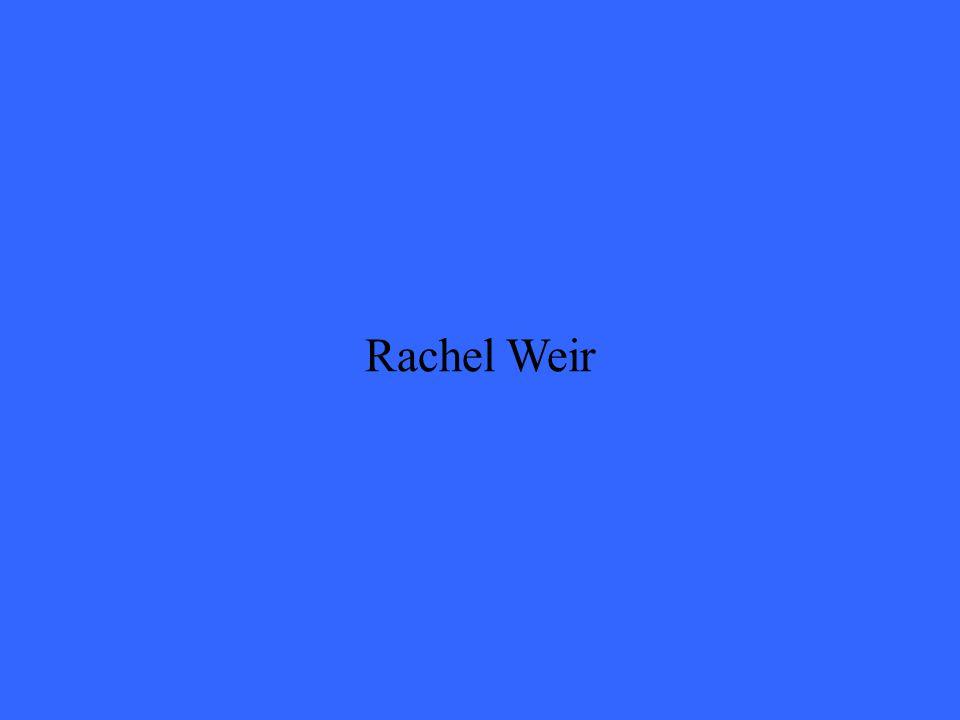 Rachel Weir