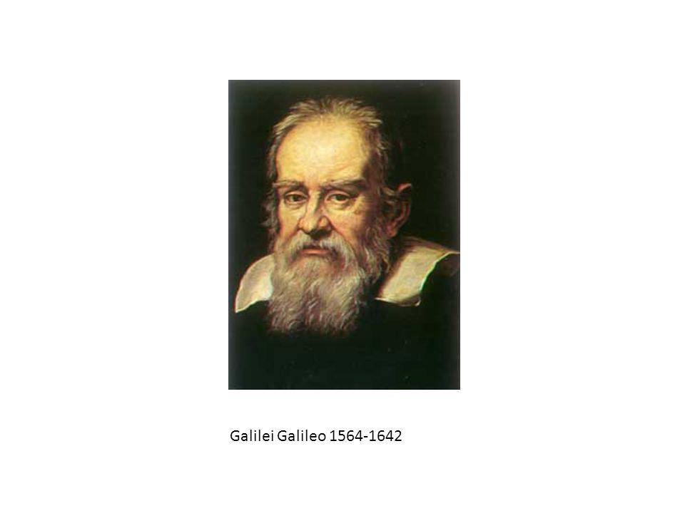 Galilei Galileo 1564-1642