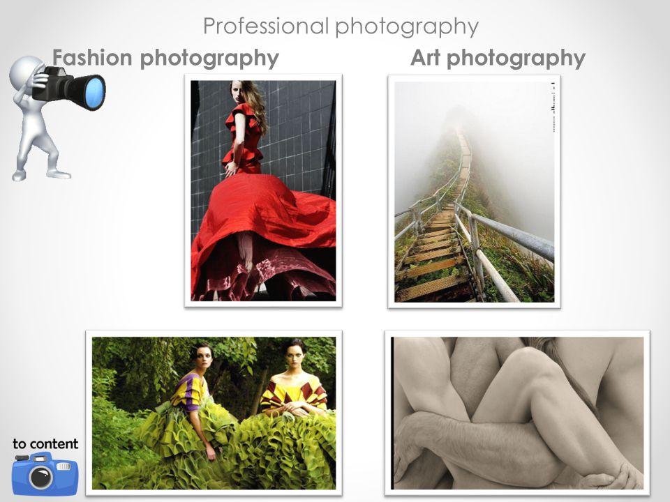 Professional photography Fashion photographyArt photography