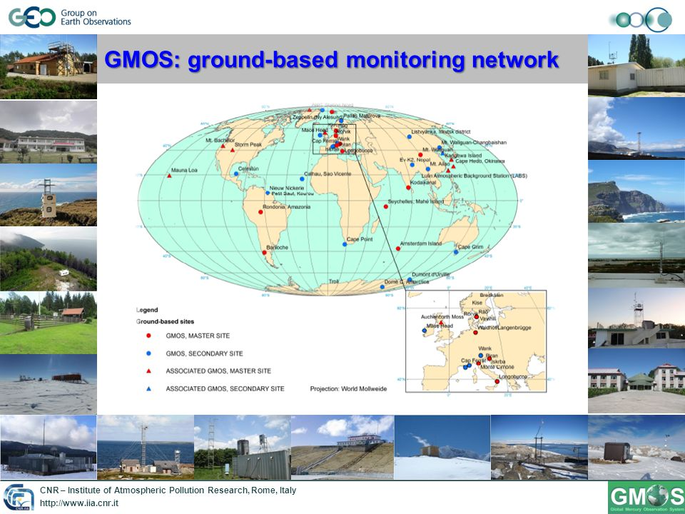 CNR – Institute of Atmospheric Pollution Research, Rome, Italy http://www.iia.cnr.it GMOS: Oceanographic campaigns