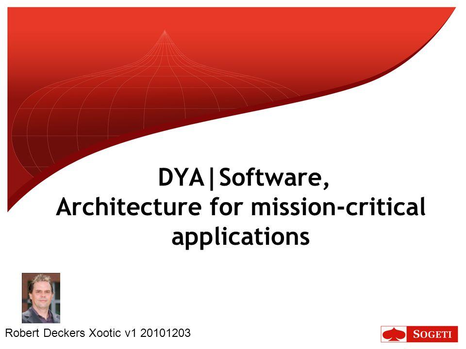 12 DYA – Architecture Process ◦www.dya.info