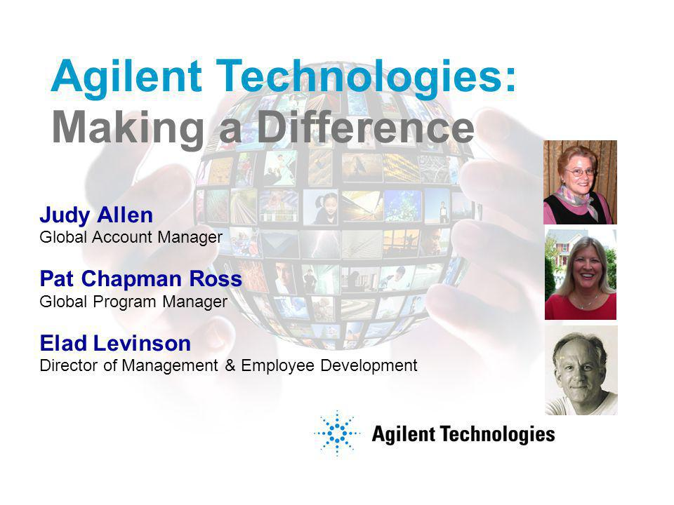 Agilent Restricted Page 3 To provide critical enabling technologies to advance the state of the art and help our customers achieve their business results Agilent's Purpose