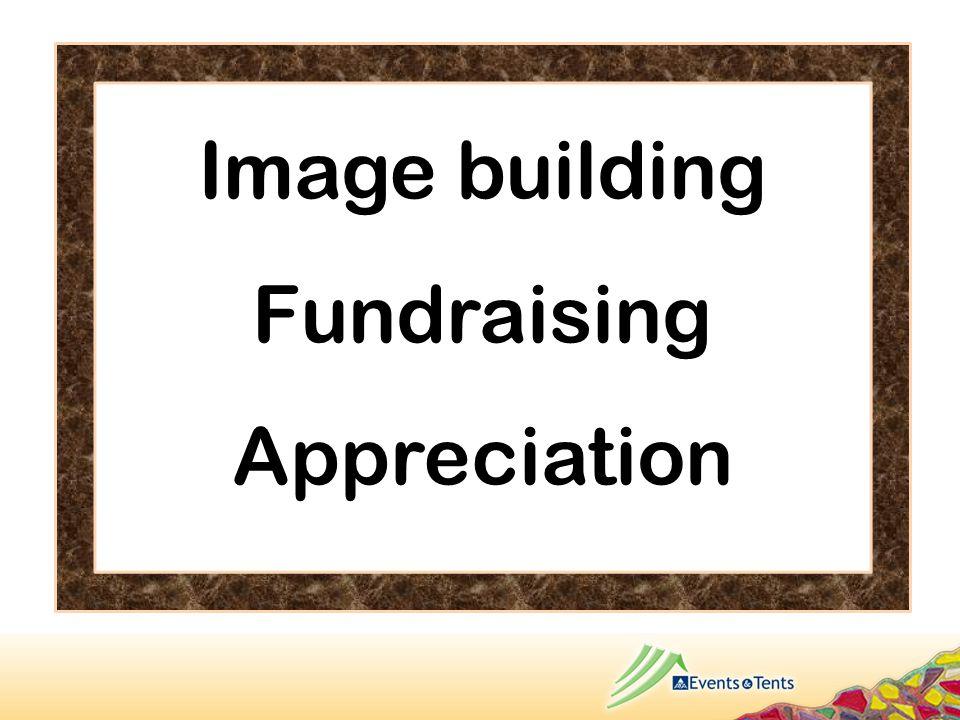 Image building Fundraising Appreciation