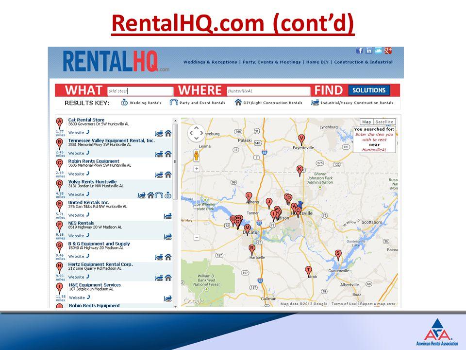 RentalHQ.com (cont'd)