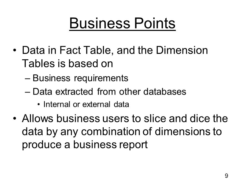 59 Sales Data Warehouse