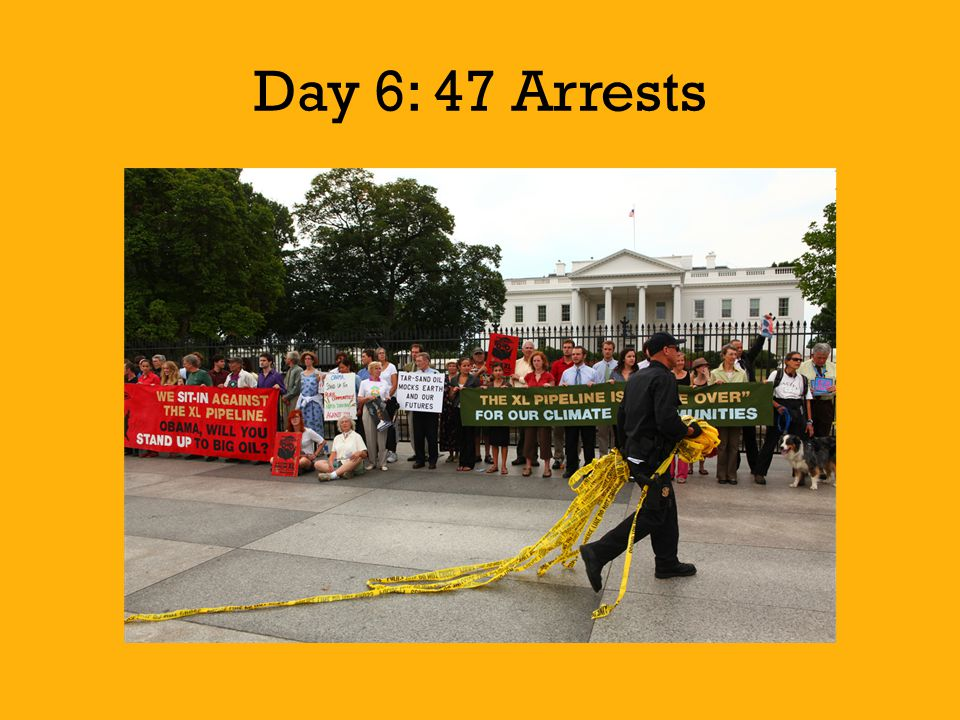 Day 6: 47 Arrests