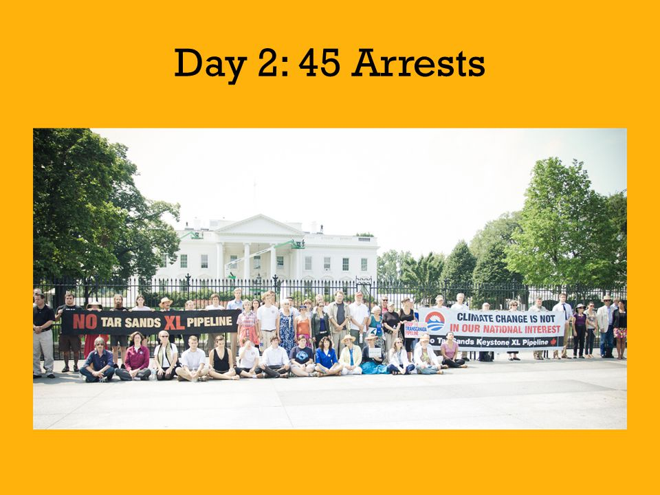 Day 2: 45 Arrests