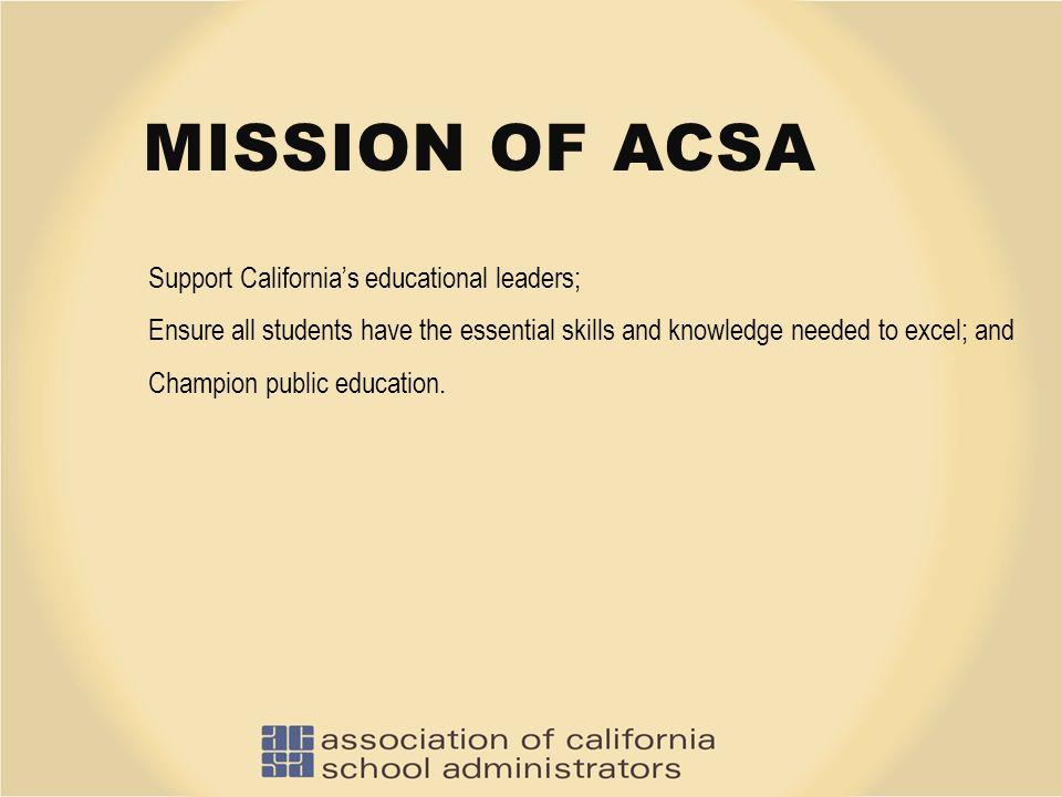 ACSA's Vivid Description