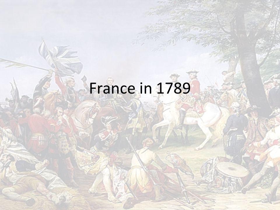 France in 1789