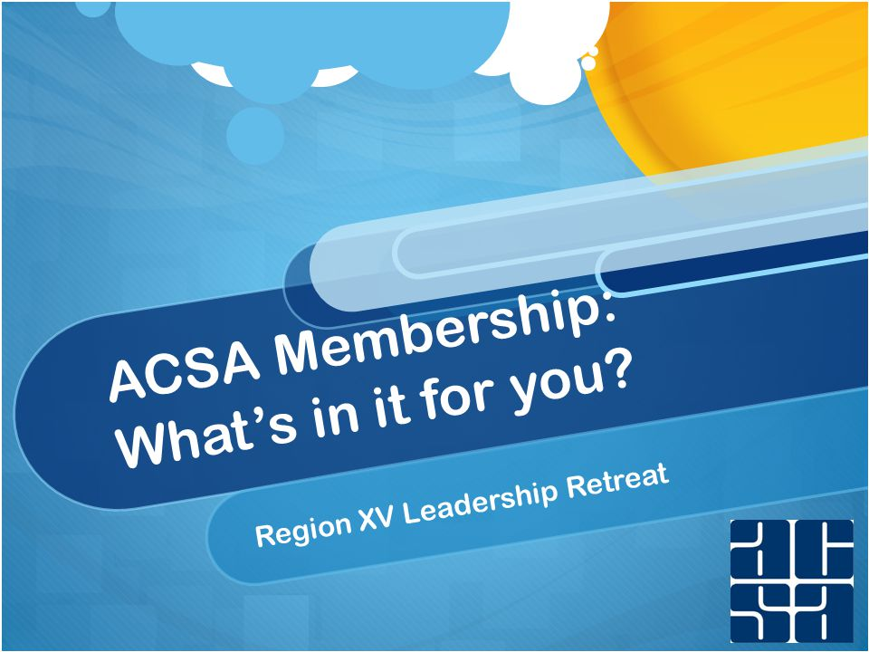 Trends: Who We Are Association of California School Administrators