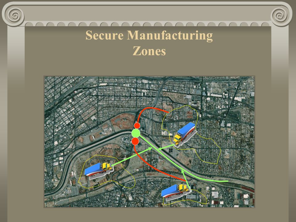 Secure Manufacturing Zones