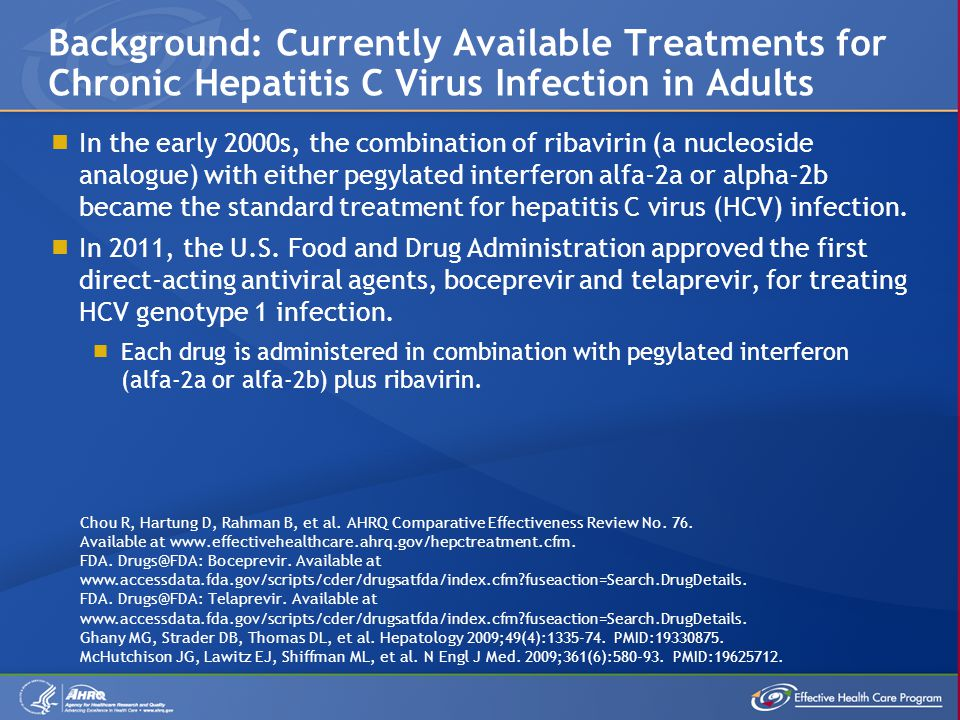  Both dual and triple therapies in treatment-naive patients with hepatitis C virus (HCV) infection were found to produce sustained viral responses (SVRs).