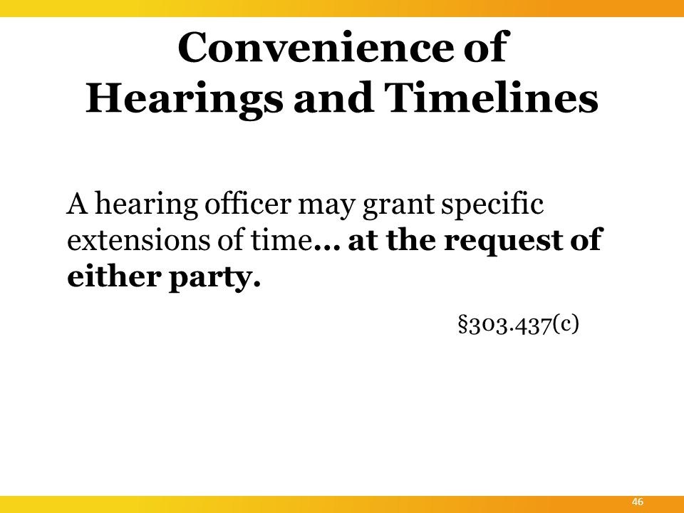 States That Choose To Adopt the Part C Due Process Hearing Procedures 45