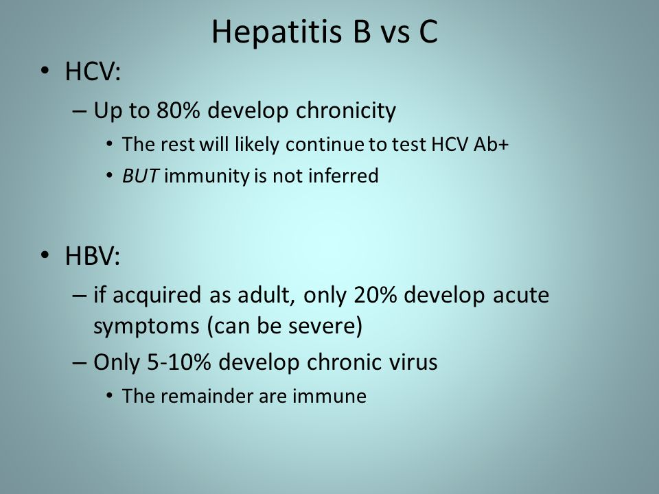 HCV is a diverse virus – 6 genotypes identified (with subtypes) Genotype 1 most common in US Genotype 2 - YEA.