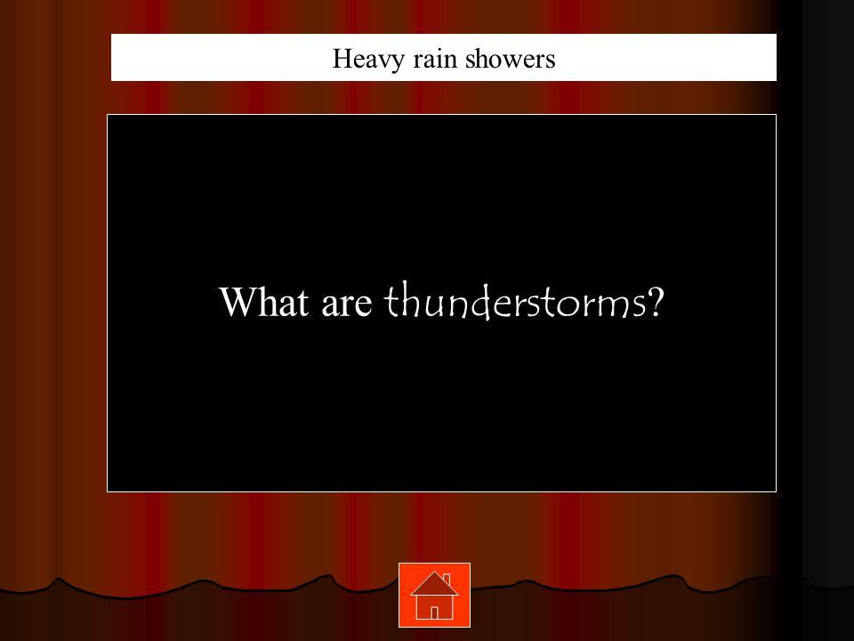 100 200 400 300 400 Thunderstorms HurricanesBlizzardsTornadoes 300 200 400 200 100 500 100