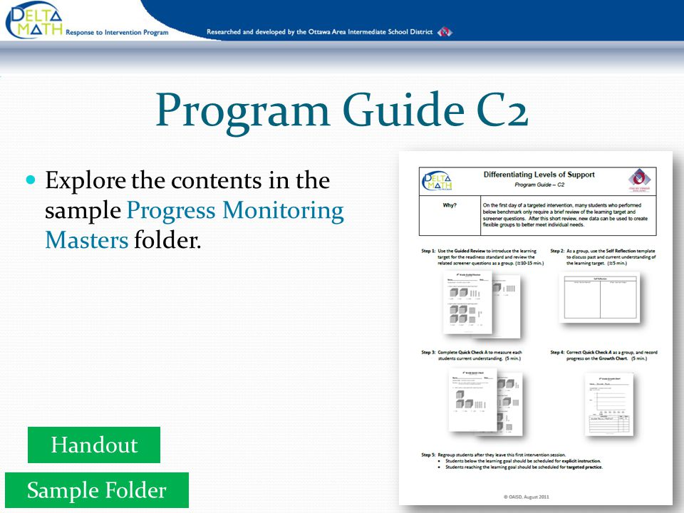 Step 1 Use the Guided Review to introduce the learning target for the readiness standard and review the related screener problems as a group.