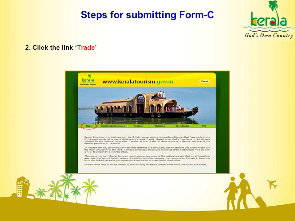 Steps for submitting Form-C 13.Click the button 'Print'.