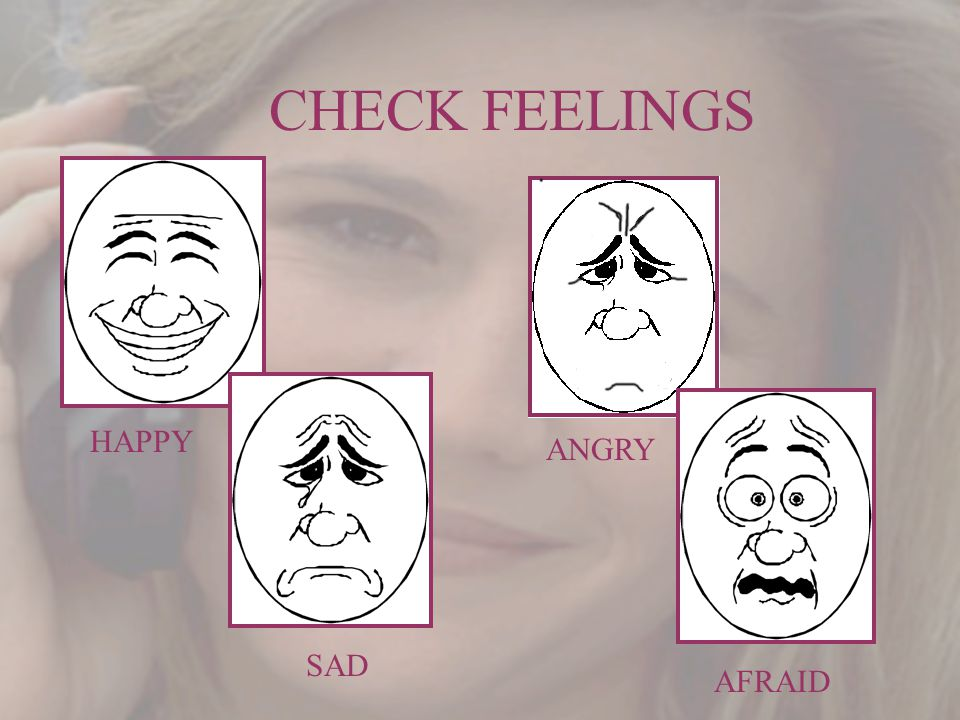 CHECK FEELINGS HAPPY SAD ANGRY AFRAID