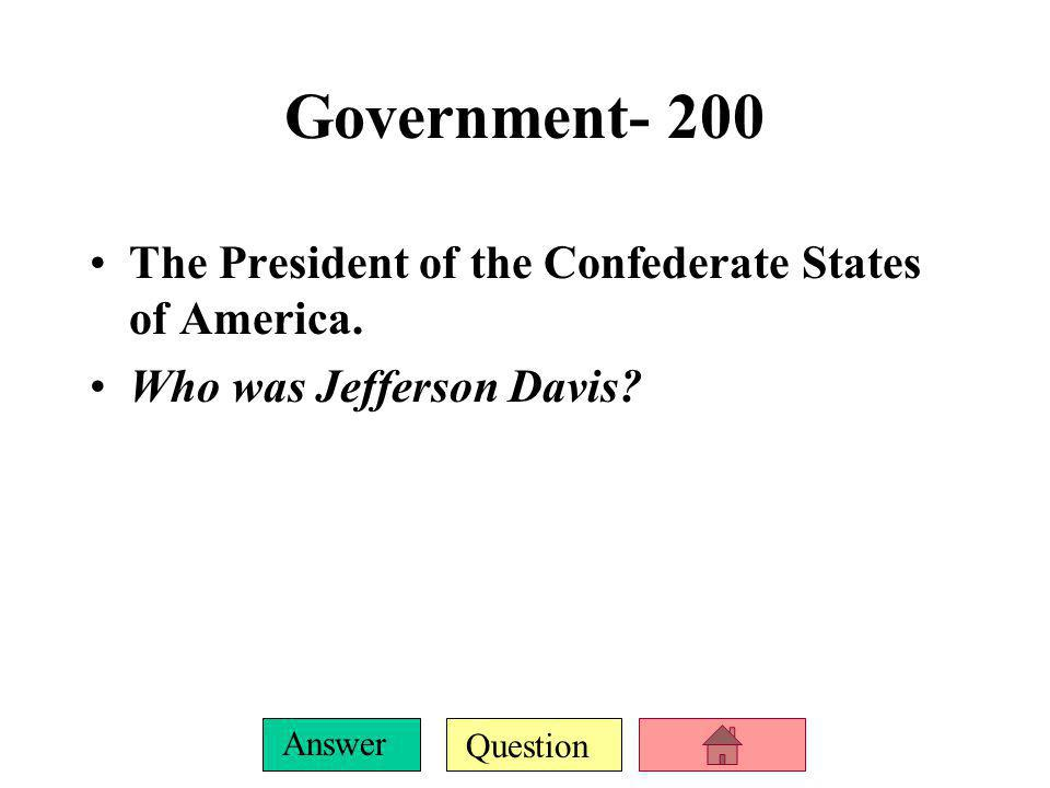 Question Answer Government-100 This compromise allowed Kansas and Nebraska to decide if they would enter the Union as a free or slave state. What was