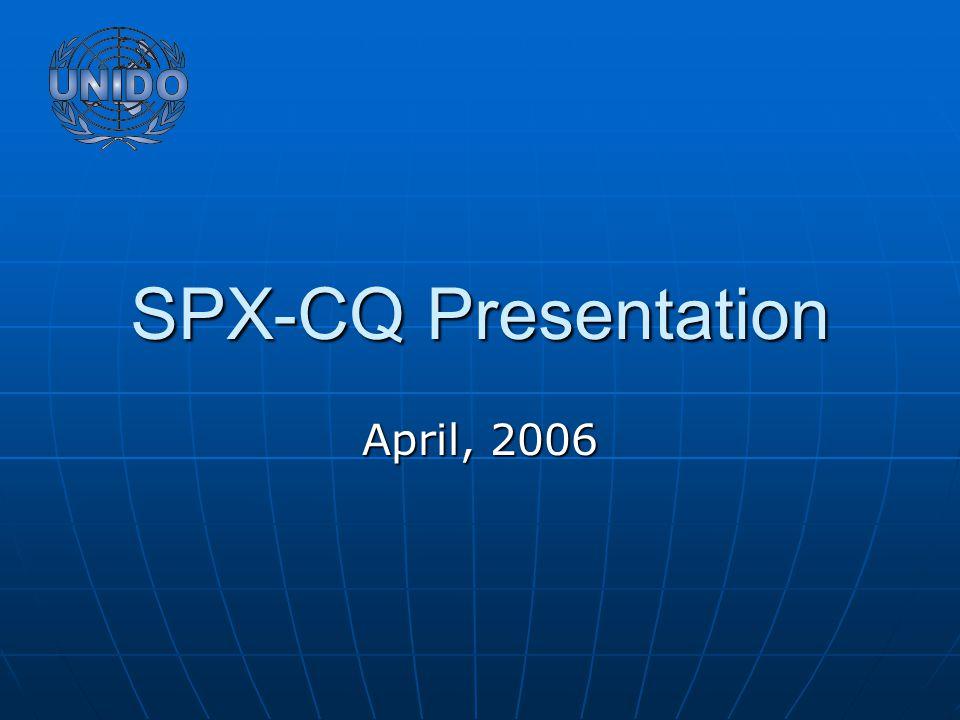 SPX-CQ Presentation April, 2006