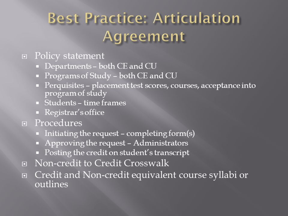  Credit Course  Course designator  Course title  Credits awarded  Contact hours  Non-credit Course(s)  Course designator(s)  Course title(s)  Contact hours