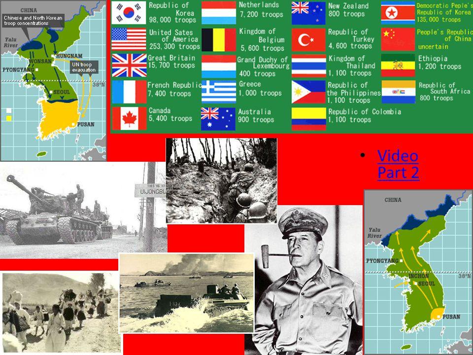 Korean War Video Part 2 Video Part 2