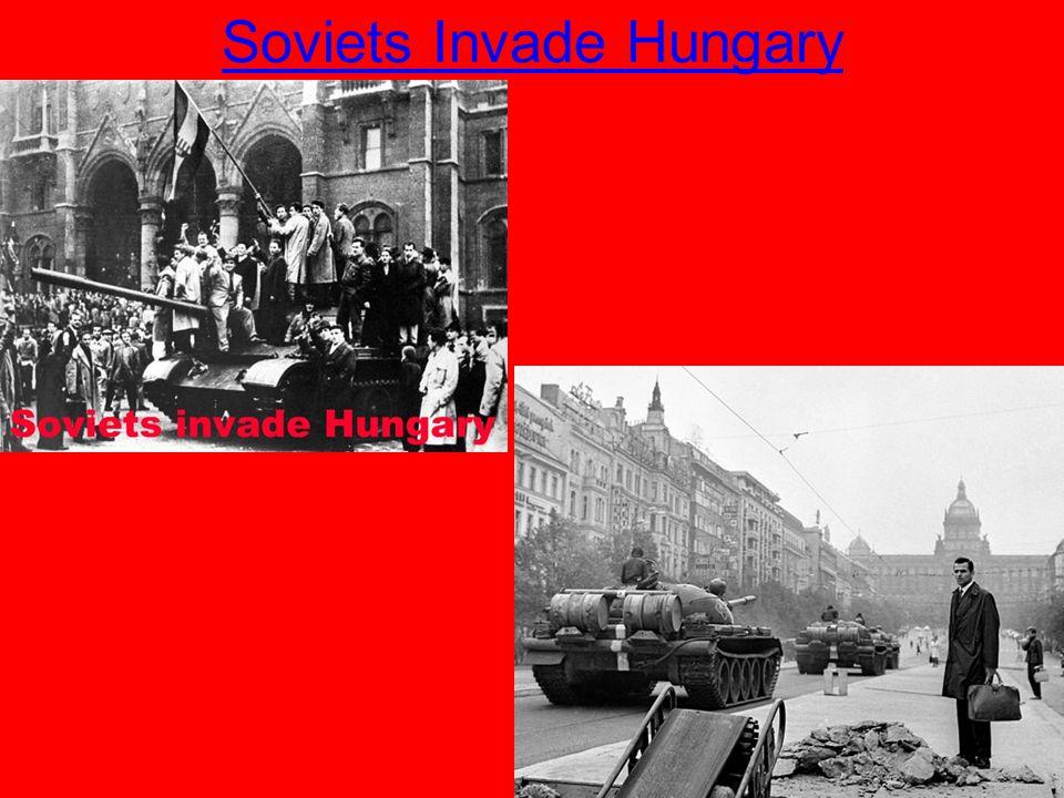 Soviets Invade Hungary