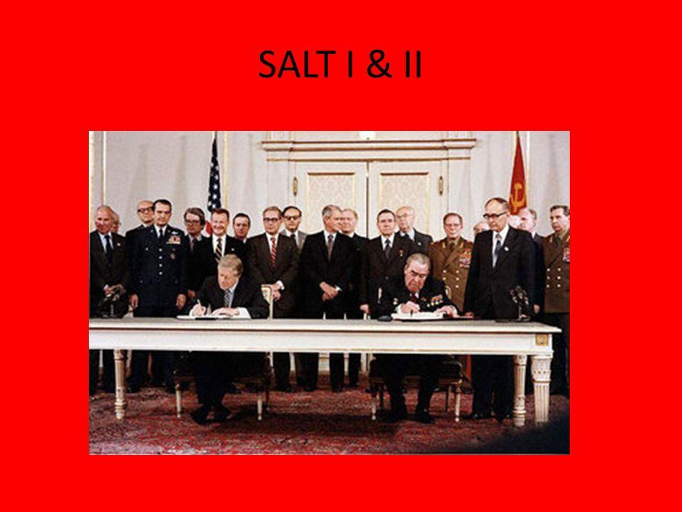 SALT I & II